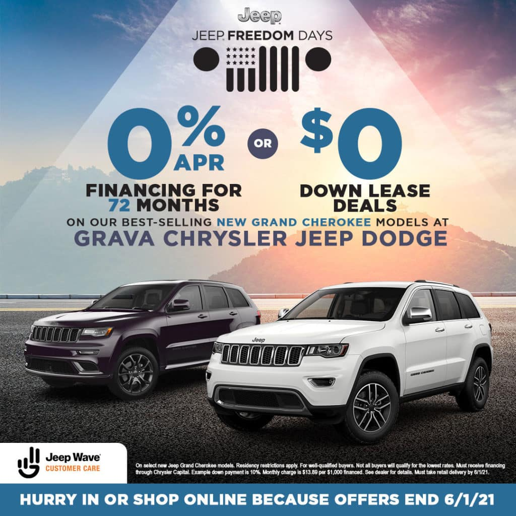 New Jeep Grand Cherokee Models