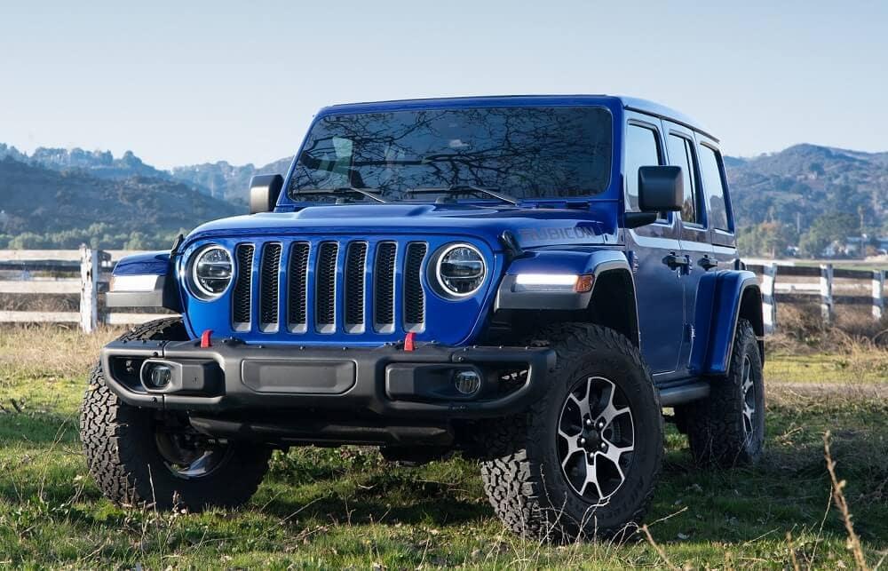 Jeep Wrangler Blue