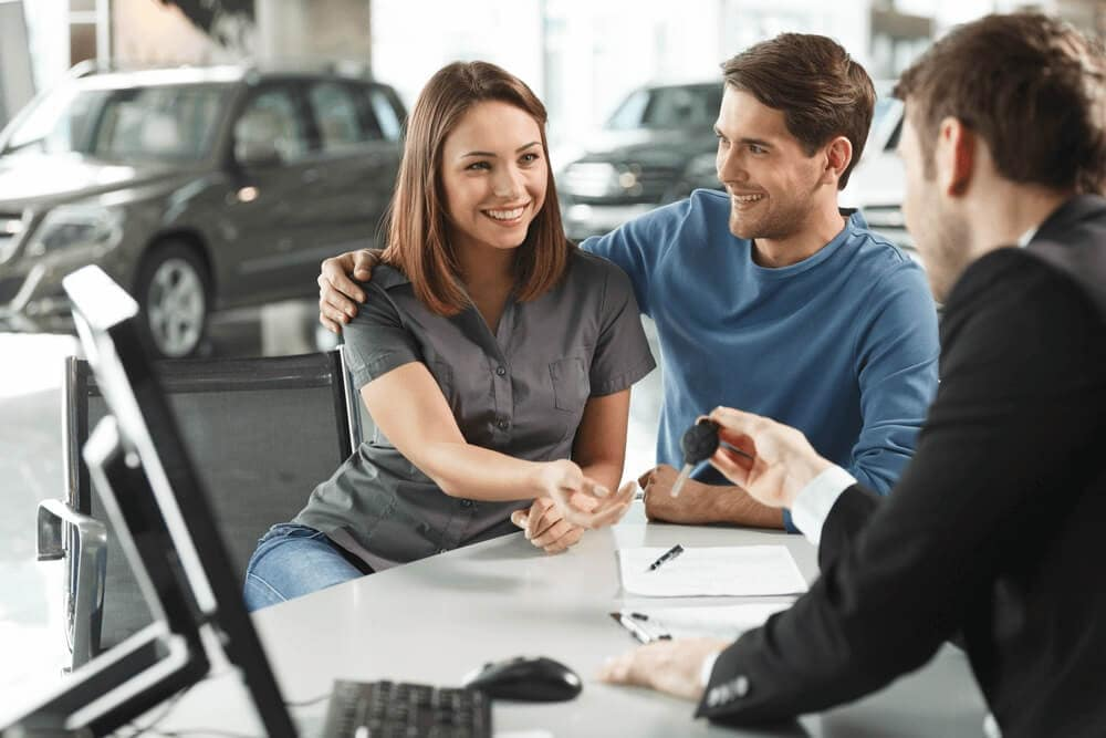 Finance Options at Car Dealership