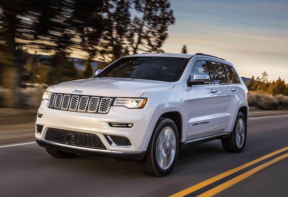 Jeep Grand Cherokee Driving