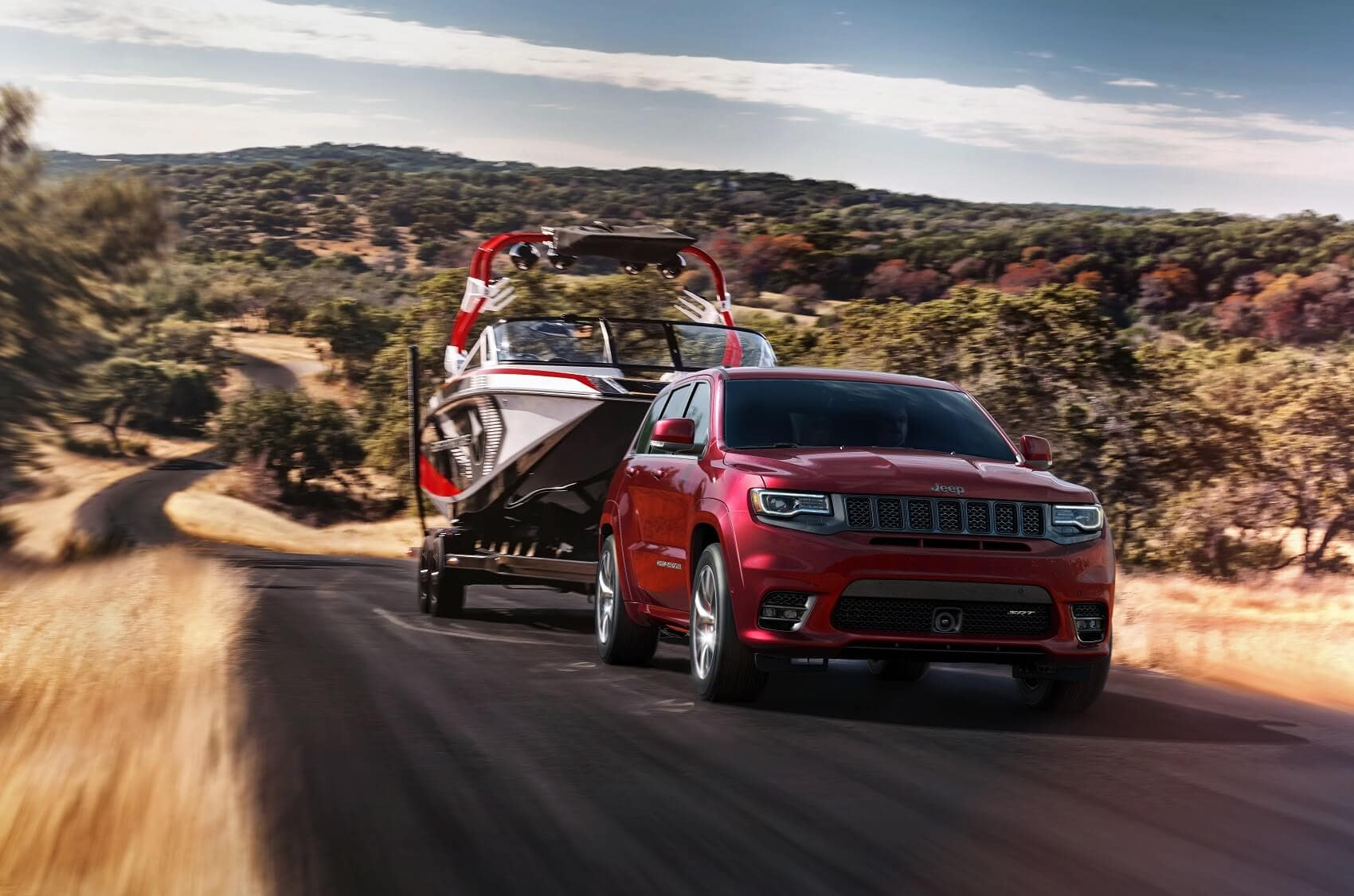 Jeep Grand Cherokee Towing Power