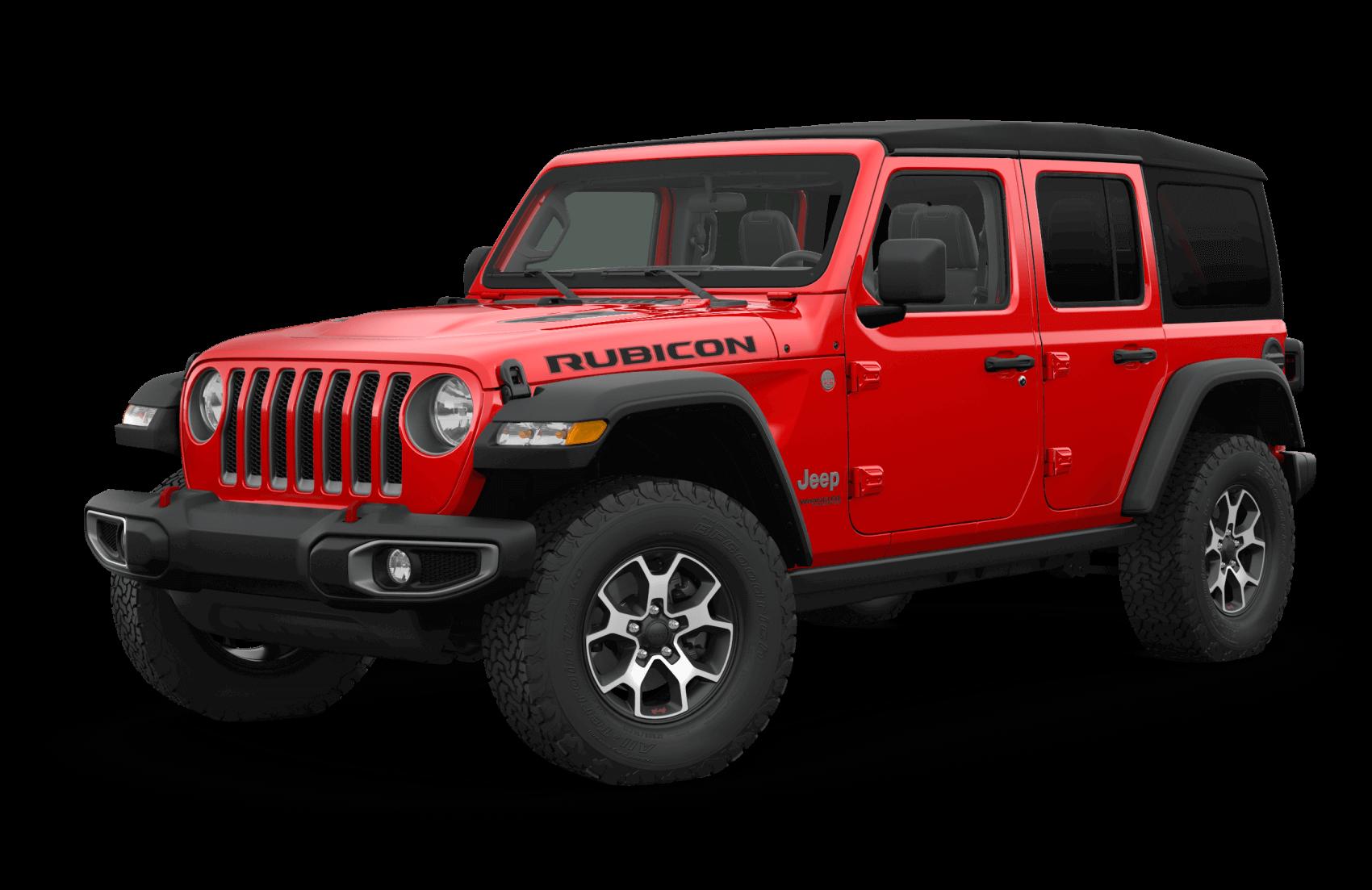 2021 Jeep Wrangler Red