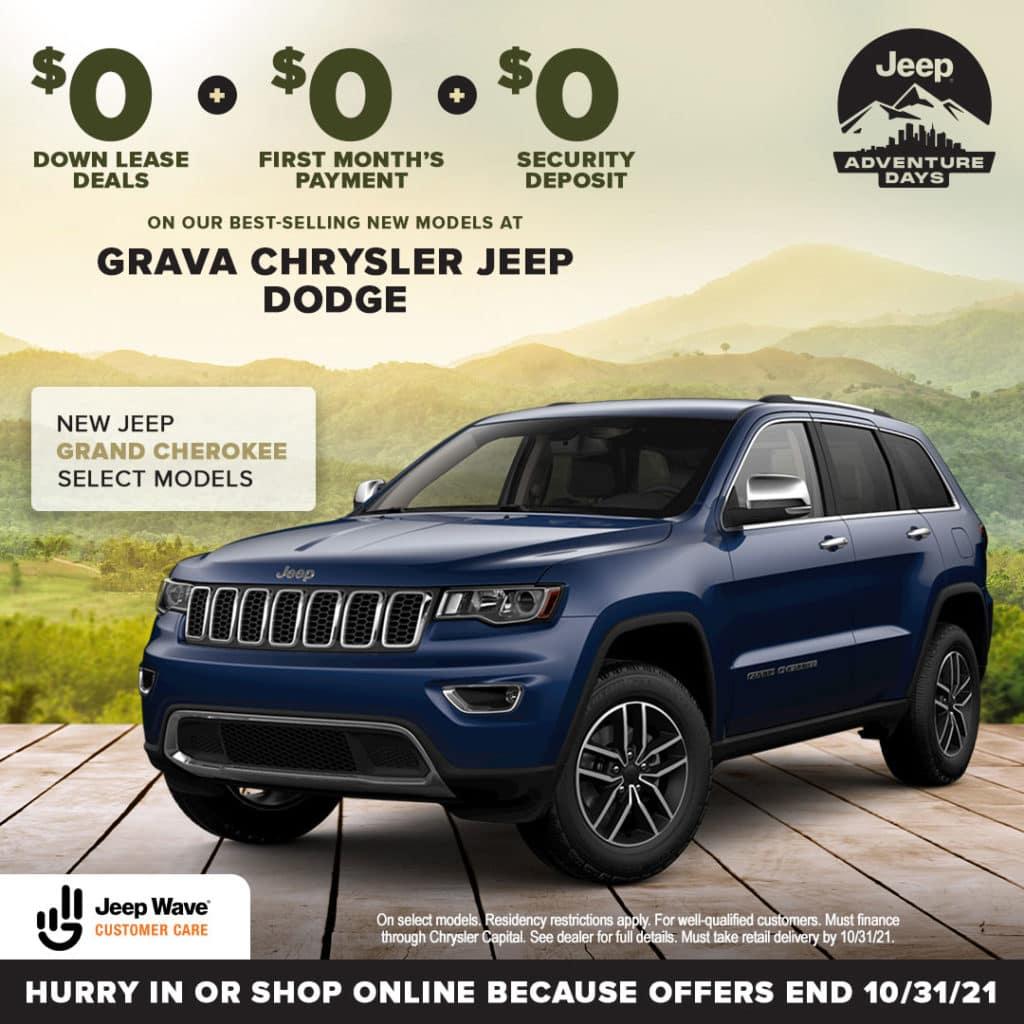 New Jeep Grand Cherokee Select Models