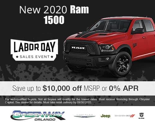 New 2020 Ram 1500