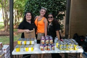 Charlotte Summer Feeding Efforts 2017 Photos