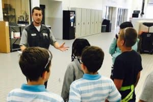 Charlotte Dealerships Volunteering in Schools
