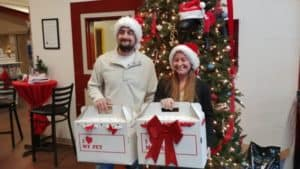 Hendrick Charleston Helps Deliver Adopted Pets in Time for Christmas