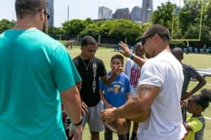 Greg Olsen Football Experience 2017 in Charlotte
