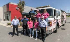 Hendrick Concord Automall Pink Out Event