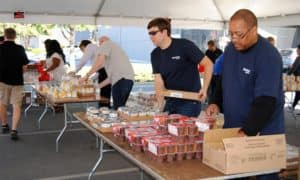 Spectrum Weekend Backpack Meal Event