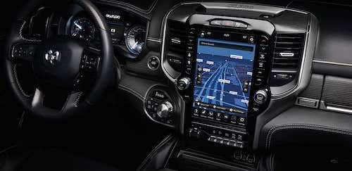 12 inch touchscreen display