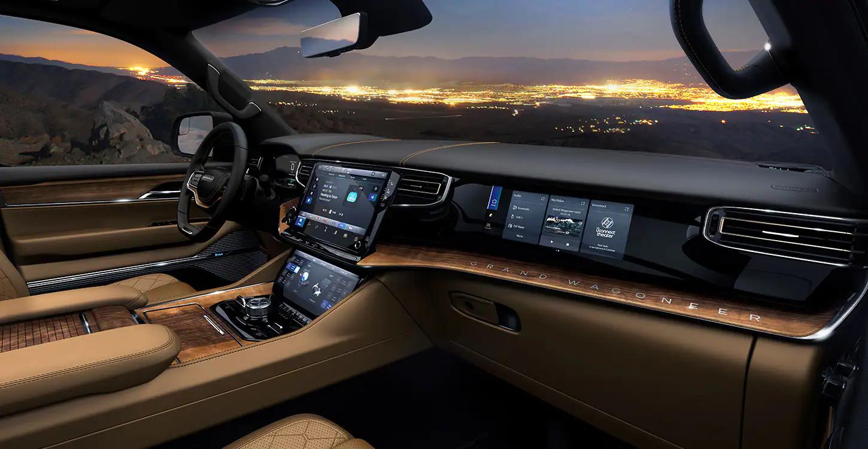 2022 Jeep Wagoneer dashboard