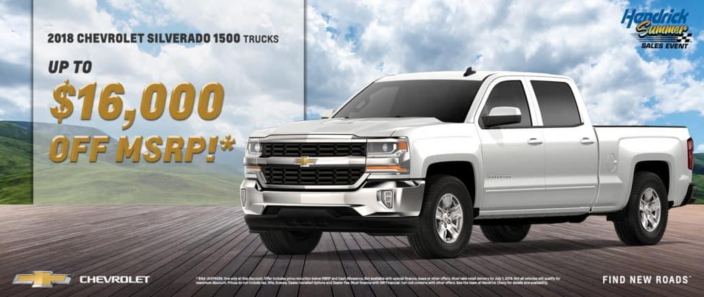 2018 Chevrolet Silverado 1500 Truck Clearance