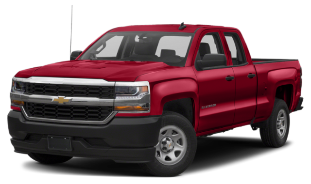 Red Chevy Silverado 1500