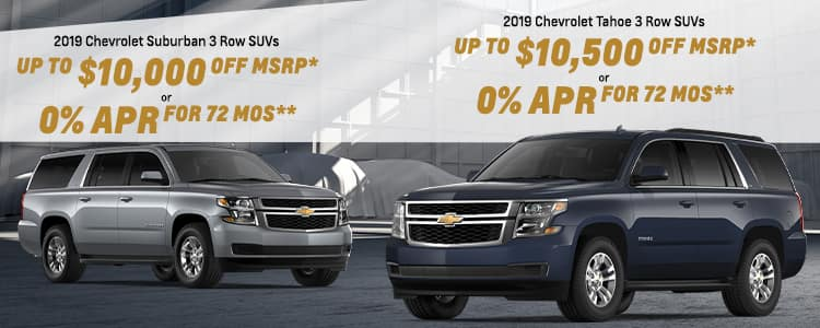 Current New Chevrolet Specials Offers | Hendrick Chevrolet