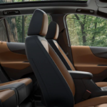2020 chevy equinox brown interior close up side shot
