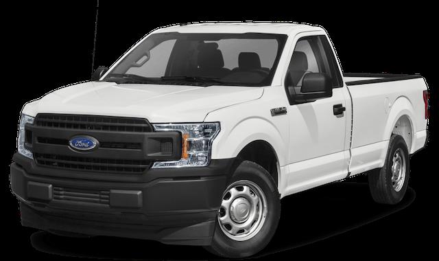 2020 ford f-150 white exterior