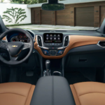 2021 chevy equinox brown leather interior