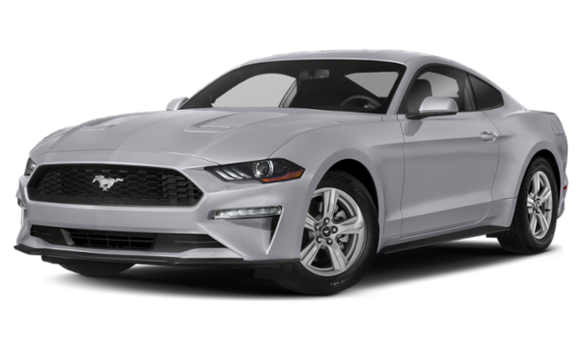 2020 ford mustang white exterior