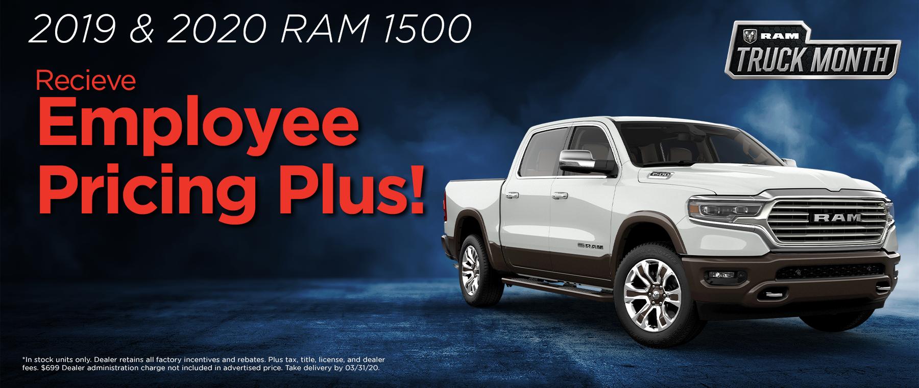 Ram 1500 Specials