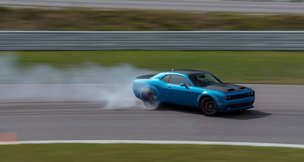 2020 Dodge Challenger on Track