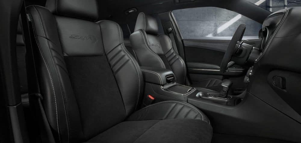 2020 charger interior black