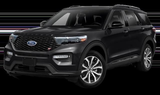 2020 ford explorer black exterior