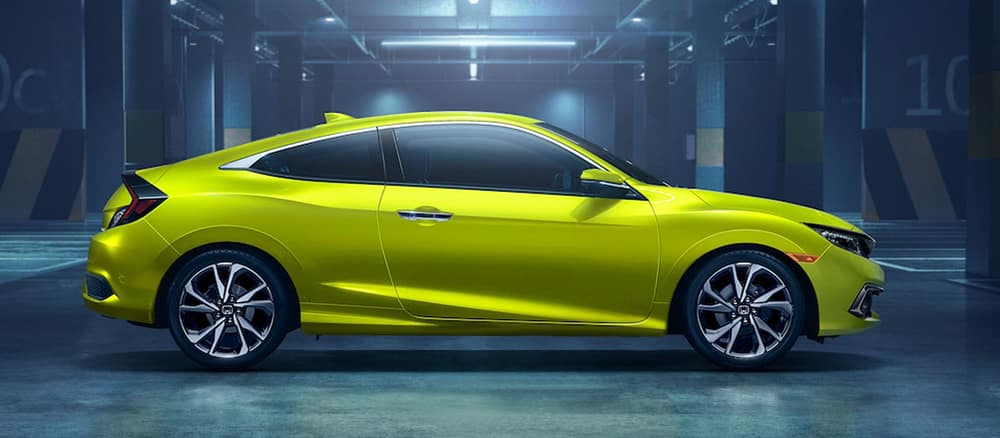 Lime Green New 2019 Honda Civic
