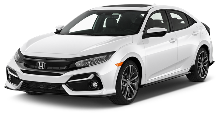 New 2021 Civic Hendrick Honda of Charleston