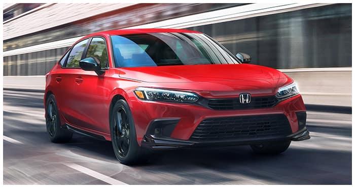 New 2022 Civic Hendrick Honda Charleston