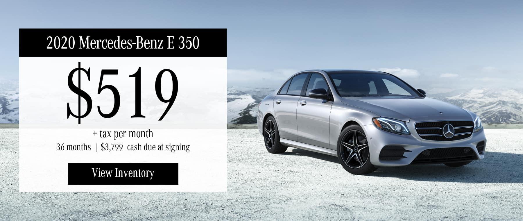 2020 Mercedes E350 W