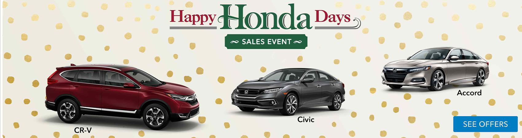 Happy Honda Days National Sales Event