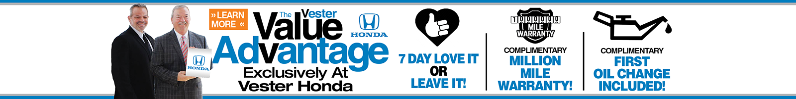 Value Advantage Honda
