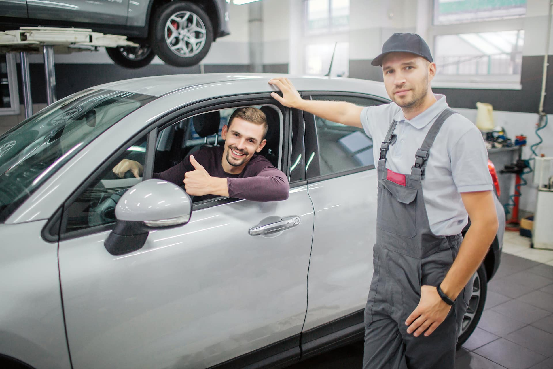 Man Shopping for a Car Online