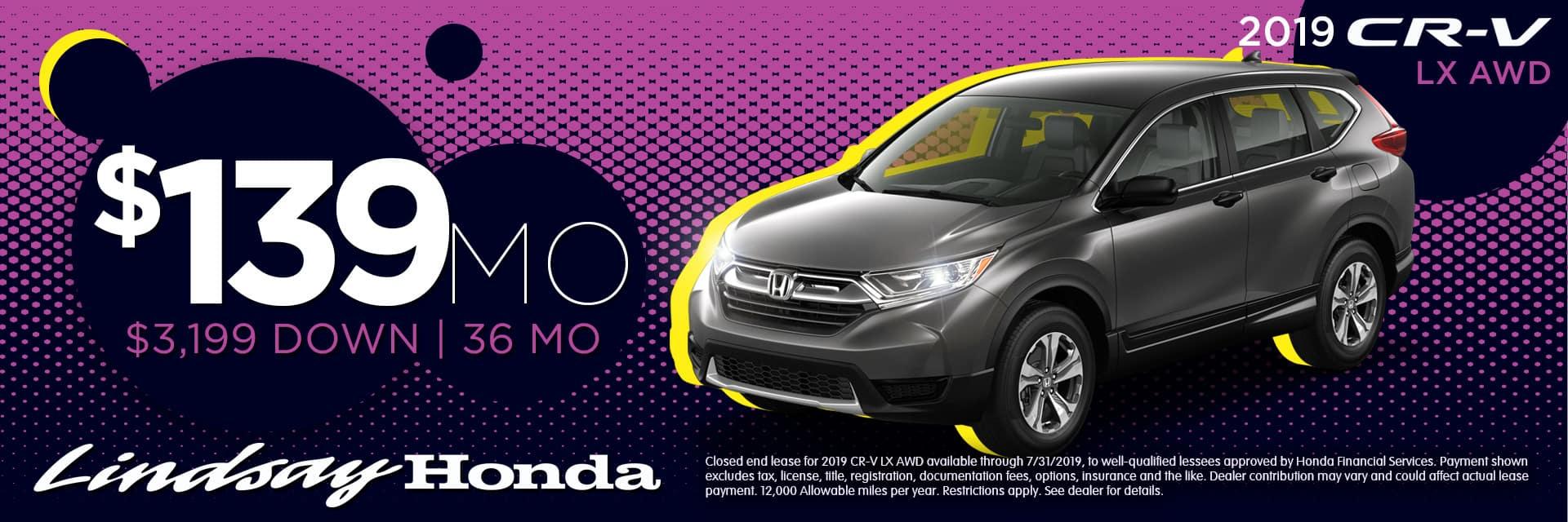 Honda Financial Services Account >> Lindsay Honda Honda Dealer In Columbus Oh