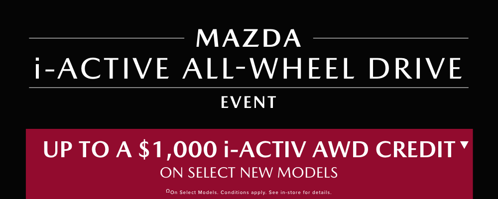 MAZDA I-ACTIVE ALL WHEEL DRIVE EVENT