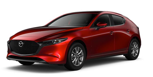 6-Speed Automatic Transmission 2021 Mazda3 Sport GX