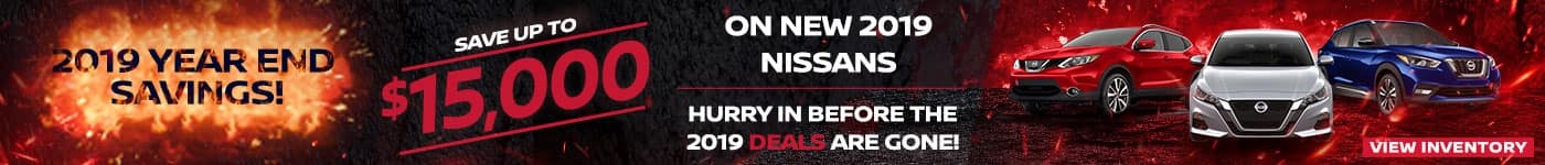Mike Erdman Nissan 2019 Year End Clearance!