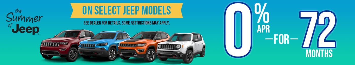 Check out our Jeep specials