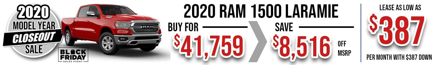Ram Closeout Nov 20 slide