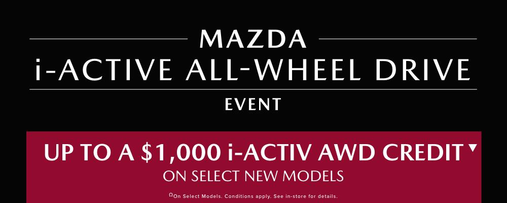 i-Active All-Wheel Drive