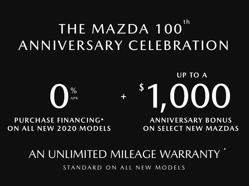 The Mazda 100th Anniversary Celebration