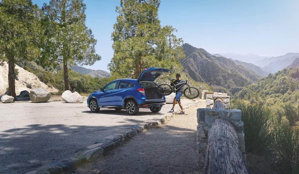 Honda HR-V Loading Bike
