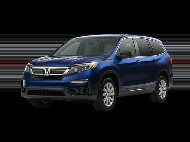 New 2020 Honda Pilot LX FWD Sport Utility