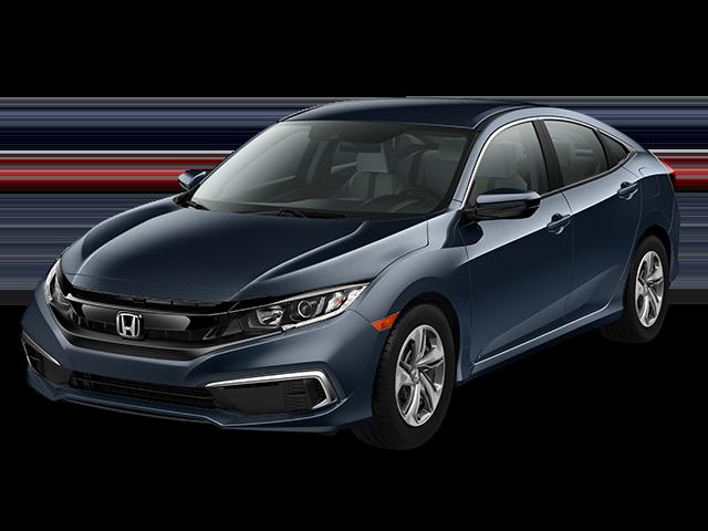 New 2020 Honda Civic LX Sedan Auto