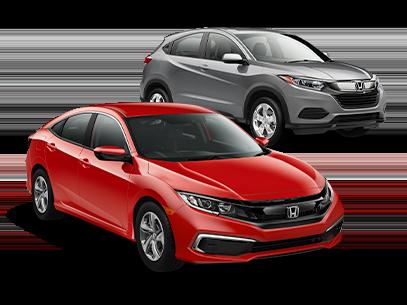 Select In-Stock New 2019 Honda Models