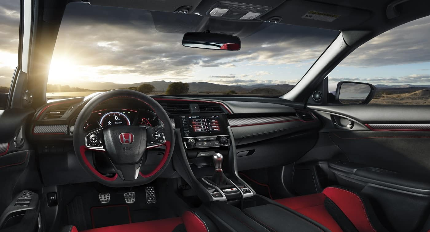 2020 Honda Civic Type R Inetrior