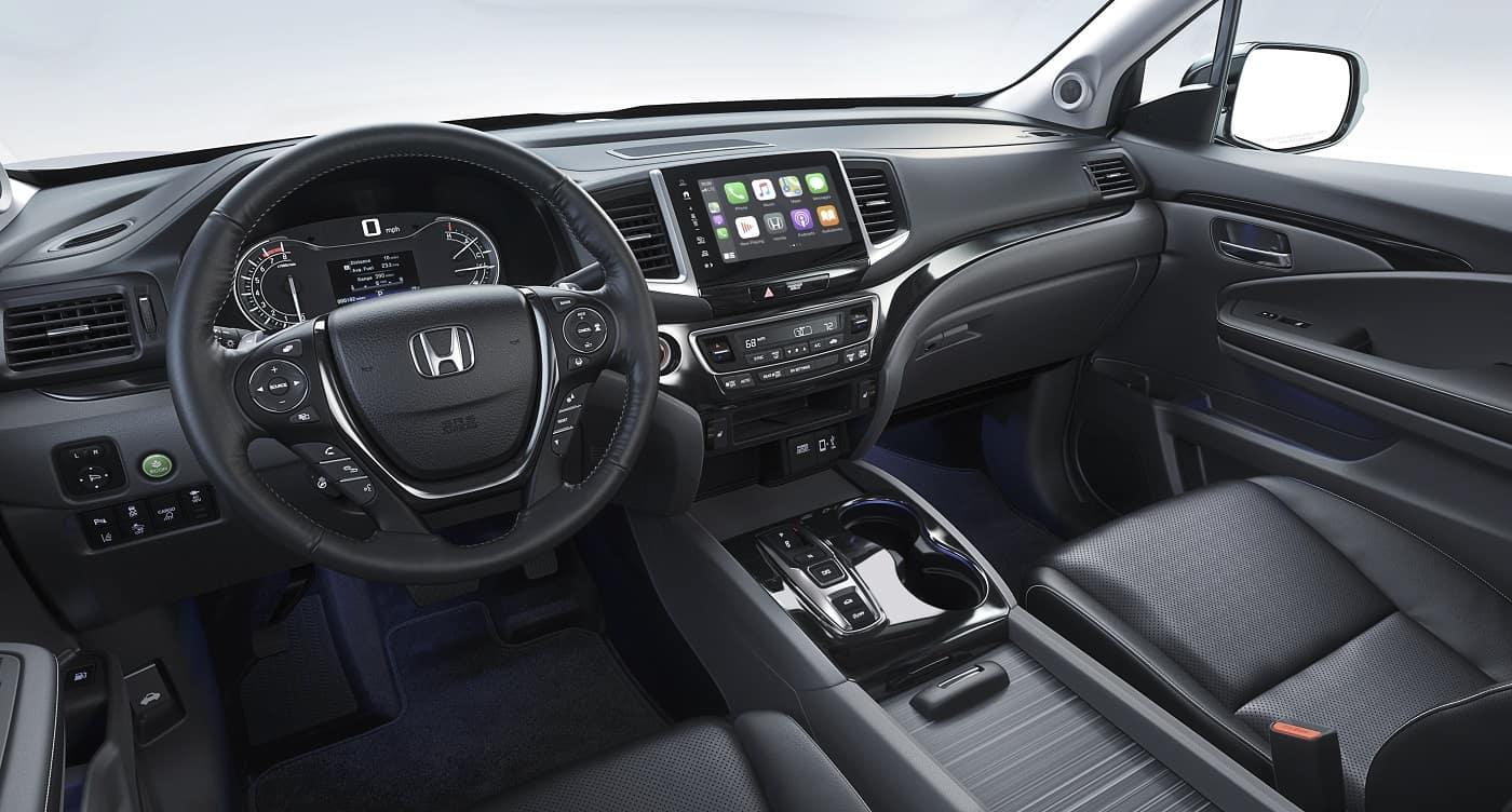 Honda Ridgeline Interior Technology