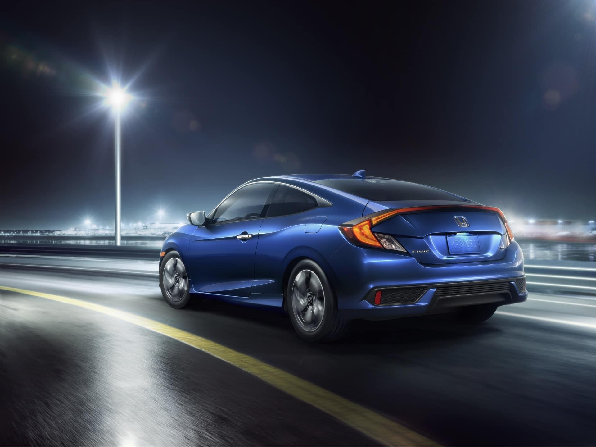Honda Civic Driving Technology