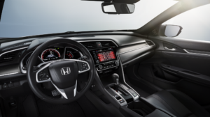 Honda Civic Hatchback Interior Technology